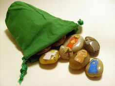 Nativity Story Stones - 15-Piece Set  #StoryStones #NativitySets