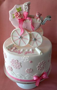 . baby shower cakes, girl cakes, baby girl shower, babi girl, baby girls, cake baby, baby cakes, babi shower, baby showers