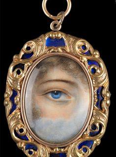 eye pendant, lover eye, blue eye, antiqu jewelri, eye charm