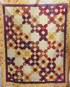 Criss Cross kit - fabric for quilt top and pattern included!