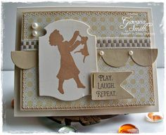 Believe: Sweet n Sassy Stamps April Blog Hop Day 5: His Child, Mini Tags & Sentiments and dies