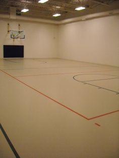 Full Size Indoor Basketball Court Broadmoor Hills