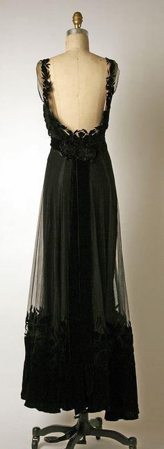 House of Dior Silk Evening Dress, 1947