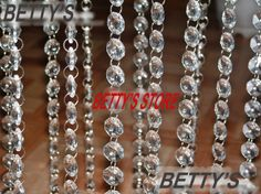 DIY Crystal Bead Chandelier 52M/170FT/lot  promotion price clear acrylic 14MM octagonal crystal beaded garland strands chains for wedding chandelier $67.16