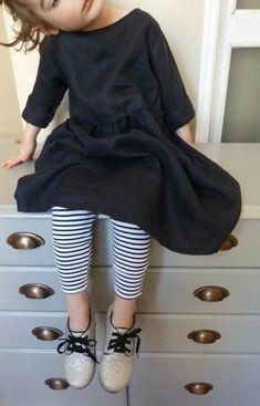 Adorable robe en lin chez La Fille électrique !