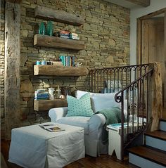 love this cozy corner