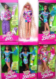 totally hair barbie.