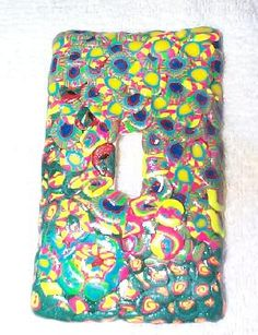 Image Detail for - Eileen's Favorite Camp Crafts Clay Light Switch Cover Page