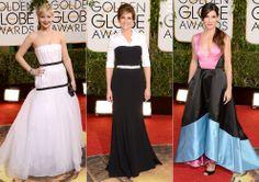 Jennifer Lawrence, Julia Roberts y Sandra Bullock en los Globos de Oro 2014