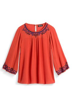 Stitch Fix Fall Styles: Embroidery Detail Top