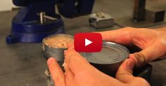 Did You Know You Can Open Cans Without A Can Opener? Here's How!
