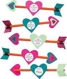 Valentine Pencil Arrows Kit is available at Paper Source. What a cute way to promote scholarship and sisterhood this Valentine's Day!