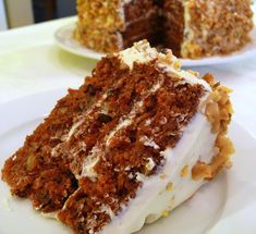 Triple-Layered Spiced Apple Carrot Cake with Goat Cheese Frosting | Noble Pig