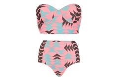 10 Attention-Getting Graphic Bikinis for a Stylish Summer