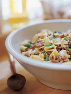 Orecchiette with Spicy Sausage and Broccoli Rabe recipe