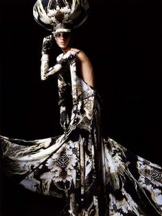 bazaar haut, givenchi, harper bazaar, salim langatta, fashion editori, spring 2007, 2007 haut, haut coutur, haute couture