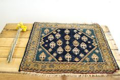 Charming Antique Afshar Persian Rug by oldnewhouse on Etsy, $165.00