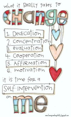 the simple steps to a happier self!