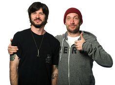 Chris Cole and Jamie Thomas