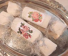 DIY::Victorian #Christmas Crackers #ShabbyChic pb≈