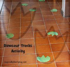 6 dinosaur  activities