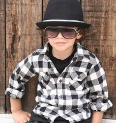 Love this style...wear a black  white checkered button down with matching fedora ...a must have outfit!!