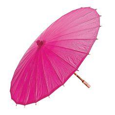 Hot Pink Parasol - OrientalTrading.com