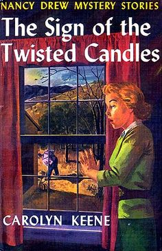 Imagine an entire bookshelf of yellow-binded hardcover Nancy Drews