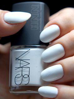 I love white nails
