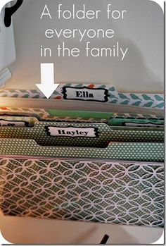 There are too many cool things on this post. A way to organize papers, everyday supplies, a large magnetic board. Me, please. Me, please. Check it out for four or five great ideas for a small space.