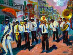NOLA Second Line Tradition - #TakemetoNOLA