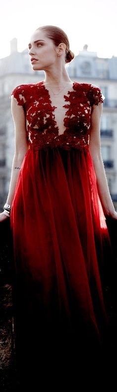 red blood lace