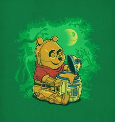 Star Wars /  Winnie the Pooh // by ben6835