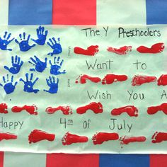 4th of July craft for my Preschoolers