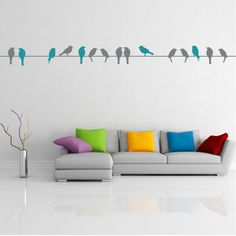 stick, wall decals