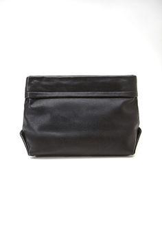 Faux Leather Bucket Clutch