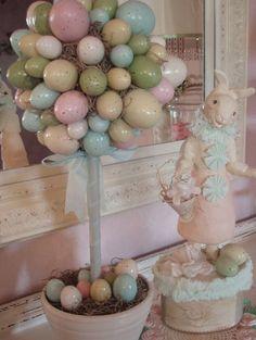 Love the Easter Egg Tree