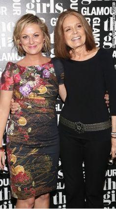Amy Poehler, Gloria Steinem