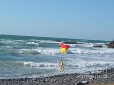 Safe bathing flag at Sandymouth Beach, North Cornwall a short drive from home. I loved the vibrant colours
