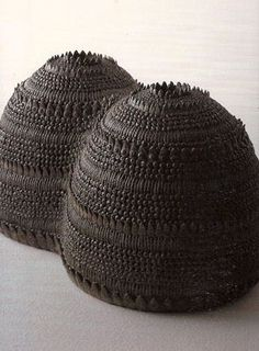 Mitsunori Demachi - Cups #pottery #Japanese_pottery #ceramics #Japanese_ceramics  #cup