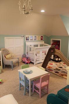 Behr's Marina Isle paint- shared room