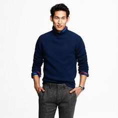 Lambswool rollneck