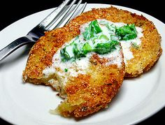 """Fried Green Tomatoes    Adapted from From Matt Lee and Ted Lee's """"The Lee Bros. Southern Cookbook"""""""