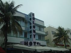 Miami Beach: The Colony Hotel-Ocean Drive-South Beach Hotels in Ocean Drive!