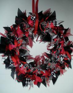 Georgia Bulldog Ribbon Wreath