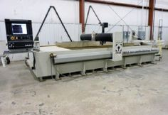 """2012 OMAX 80X/5060 CNC WATERJET CUTTING SYSTEM """" 250 Hours """""""