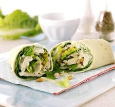 Easy Summer Dinner Recipe – Chicken and Caesar Salad Wraps | alicecorrine caesar salad, light meals, salad wrap, summer meals, summer dinners, easy summer dinner recipes, dinner wrap recipes, dinner chicken