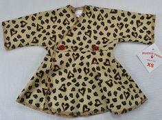 Preemie Yums Micro Preemie Cheetah Love NICU Dress - fits 2-4 lbs