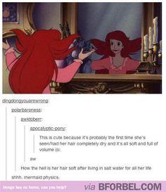 Mermaid Physics