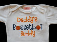 Baby Boy Clothes Basketball Sports Outfit Daddy's Basketball Buddy Newborn Boy Take Home Outfit on Etsy, $16.90